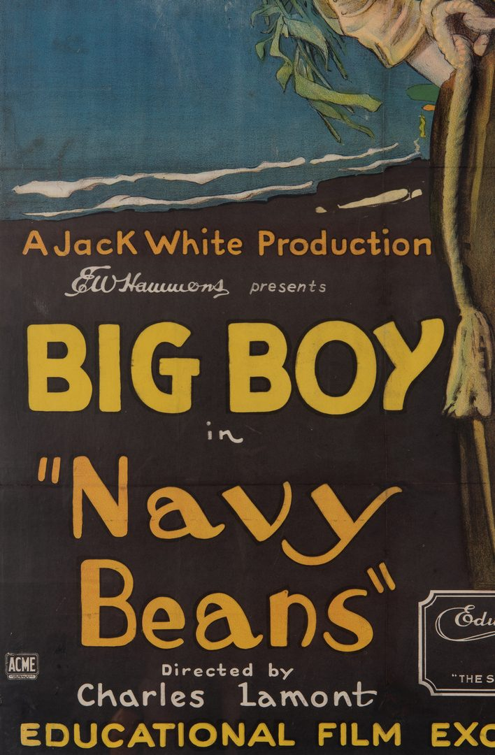 Lot 415: 2 Big Boy Movie Posters, 1920's