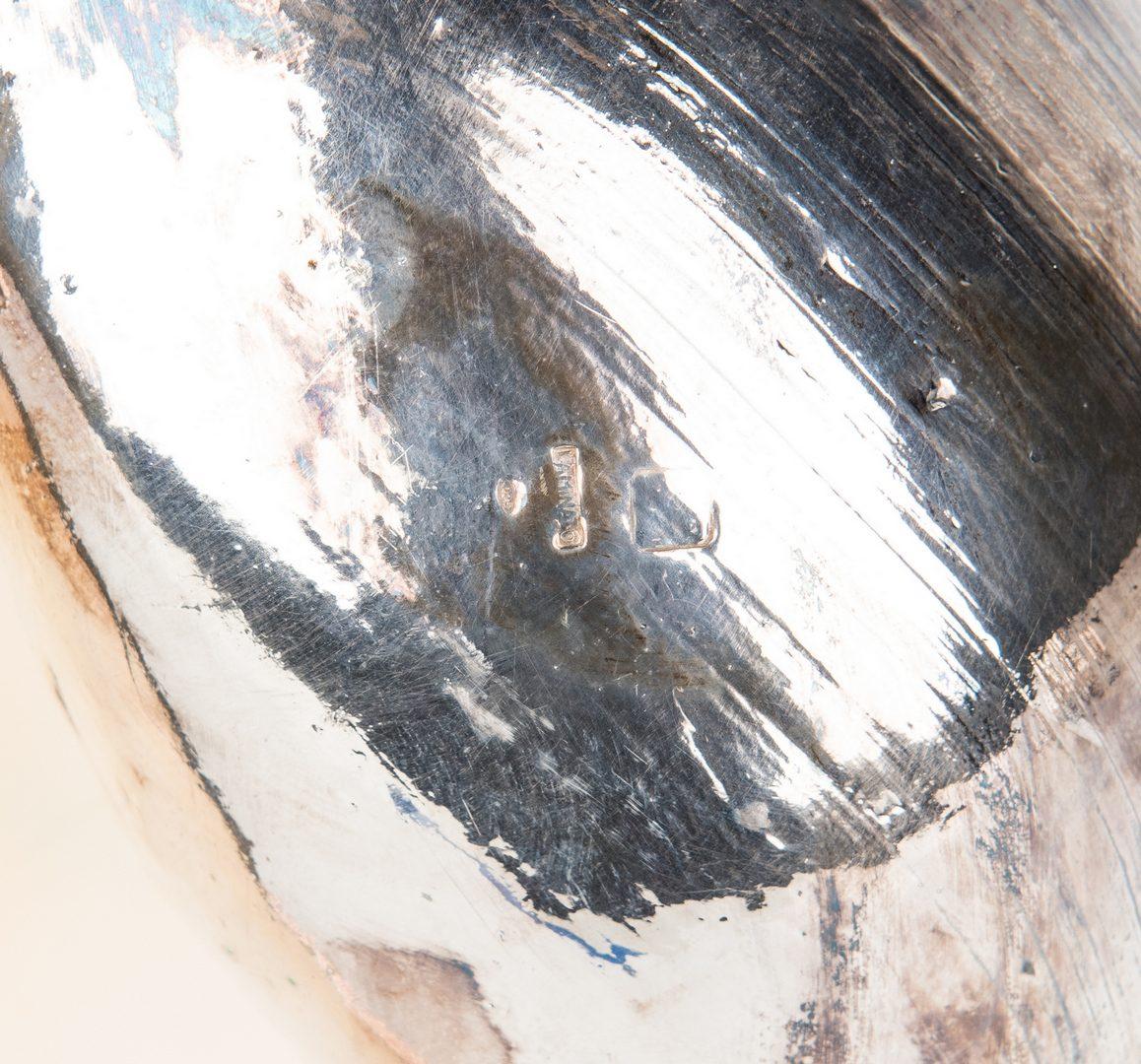 Lot 421: 7 Silver Clad Seashells, incl. Ruzzetti & Gow