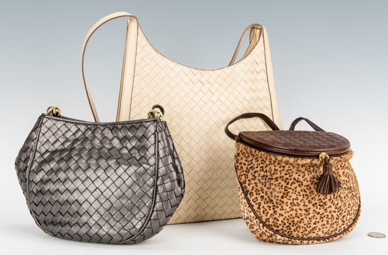 Lot 425: 3 Bottega Veneta Handbags