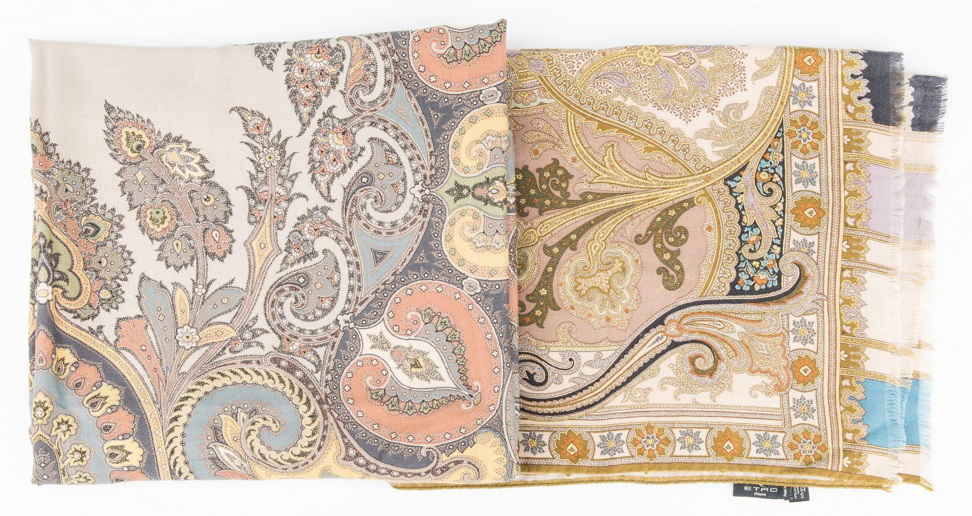 Lot 428: 14 Designer Scarves, incl. Etro, G. Von Etzdorf, Kevin O'Brien