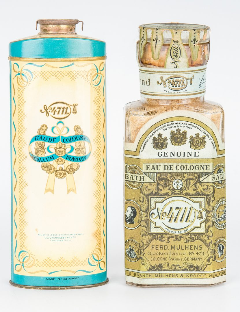 Lot 431: 4711 Brand Perfume Bottle Collection & More