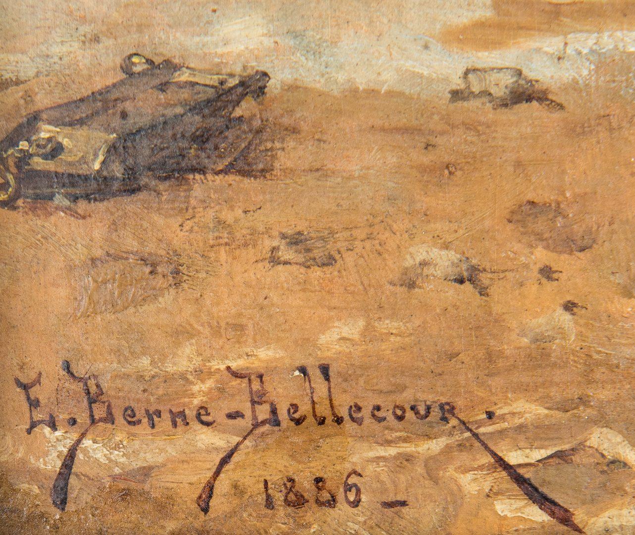 Lot 58: Etienne Berne Bellecour O/B, Fallen Horse