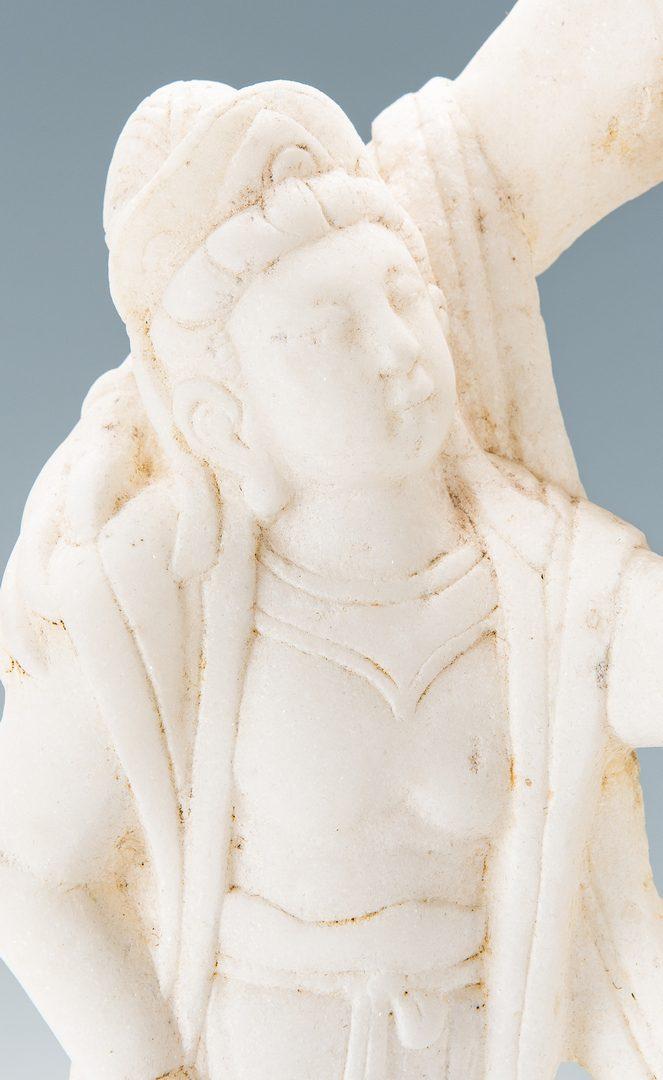 Lot 5: 4 Asian Decorative Items, incl. Sculptures