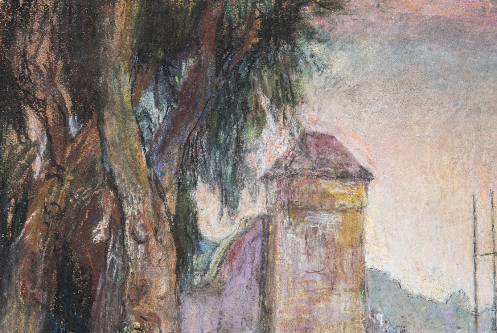 Lot 67: Attributed W.R. Sickert, O/B Pastel