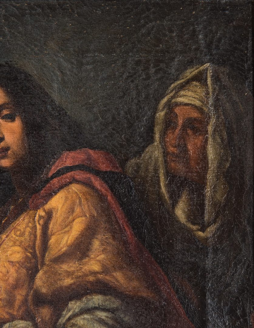 Lot 74: After Cristofano Allori O/C, Judith and Head of Holofernes