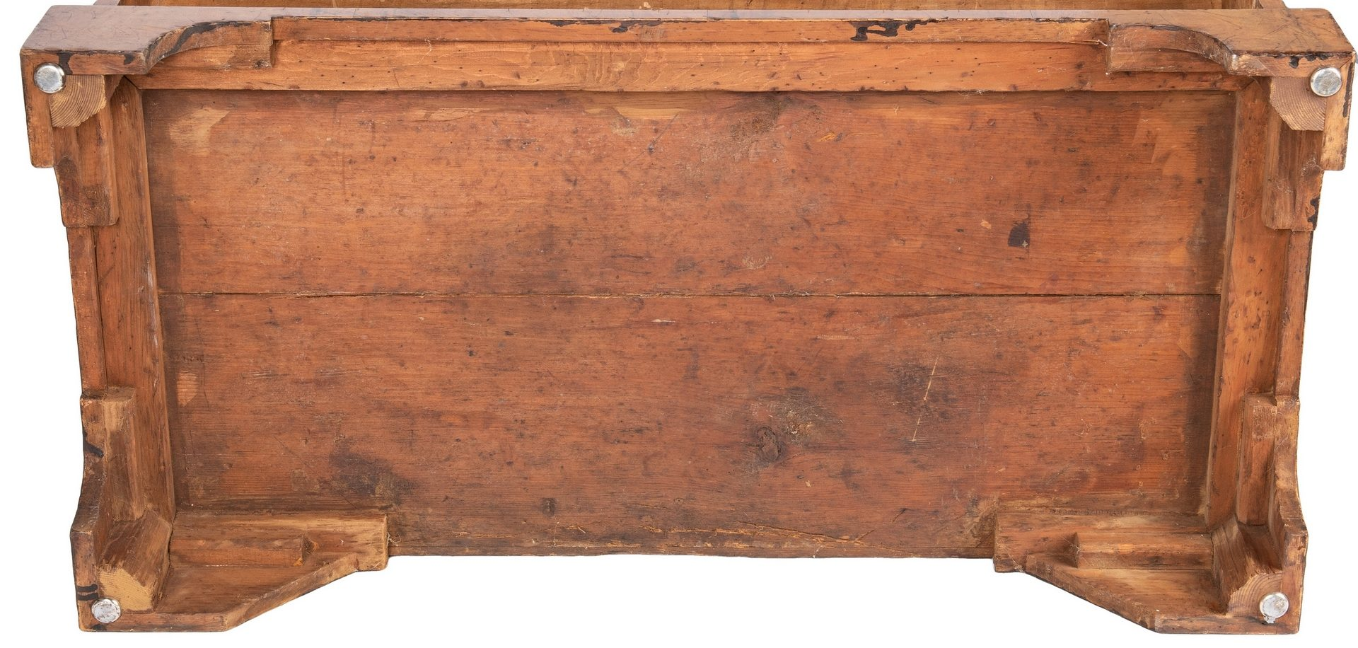 Lot 80: English Burlwood Chest of Drawers