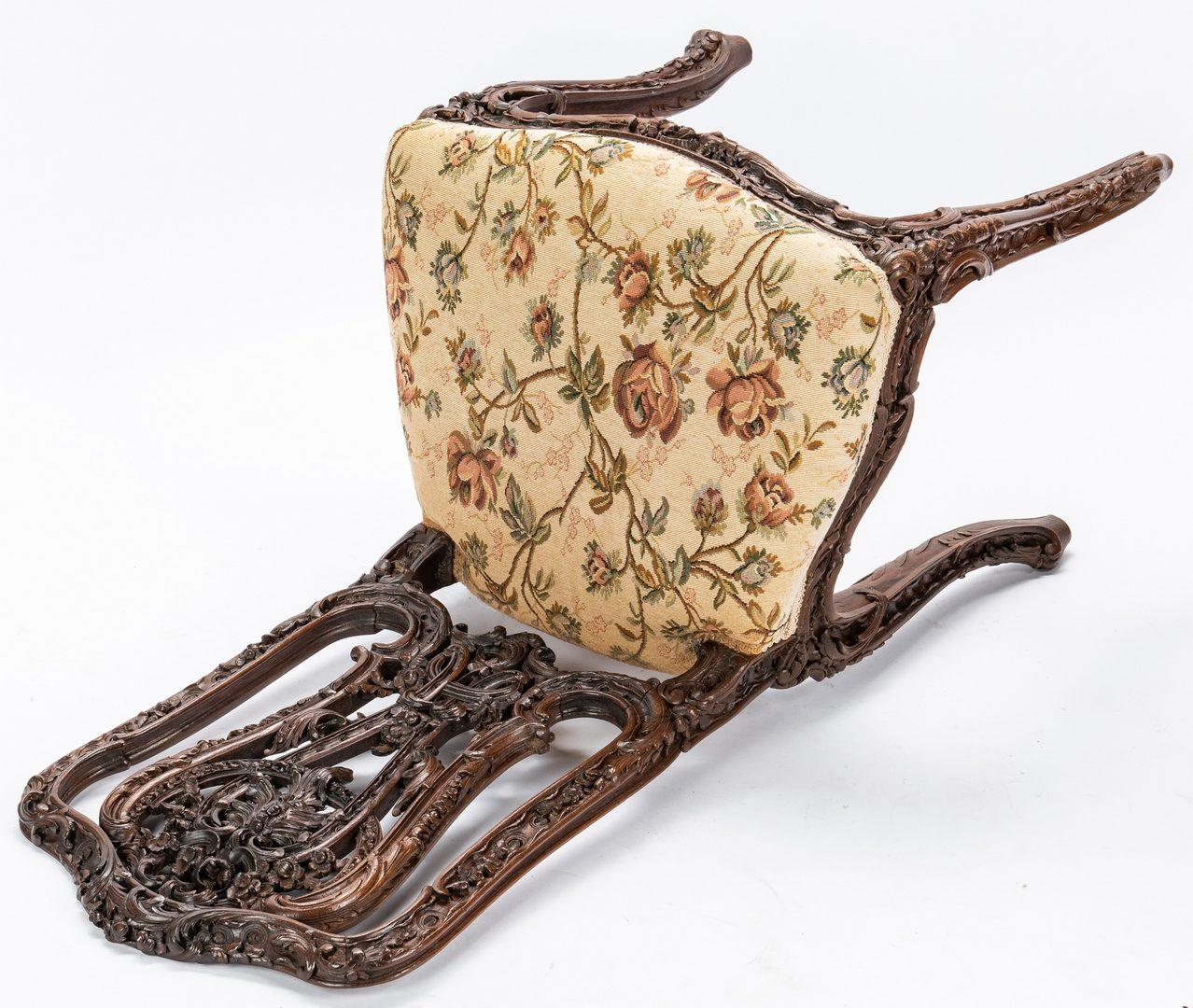 Lot 84: 2 European Side Chairs, Queen Anne & Rococo