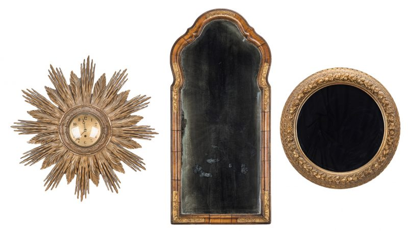 Lot 85: 3 19th century Continental Wall Items