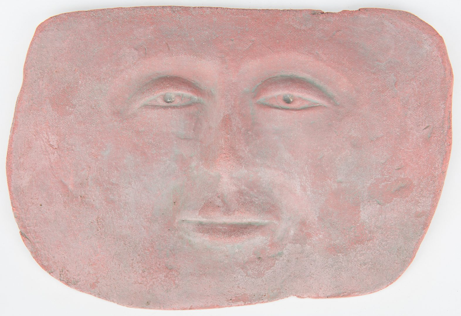 Lot 86: 5 Ceramic Faces by Olen Bryant