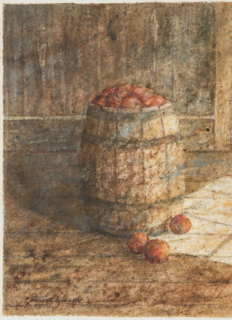 Lot 89: Pauline Wallen Watercolor