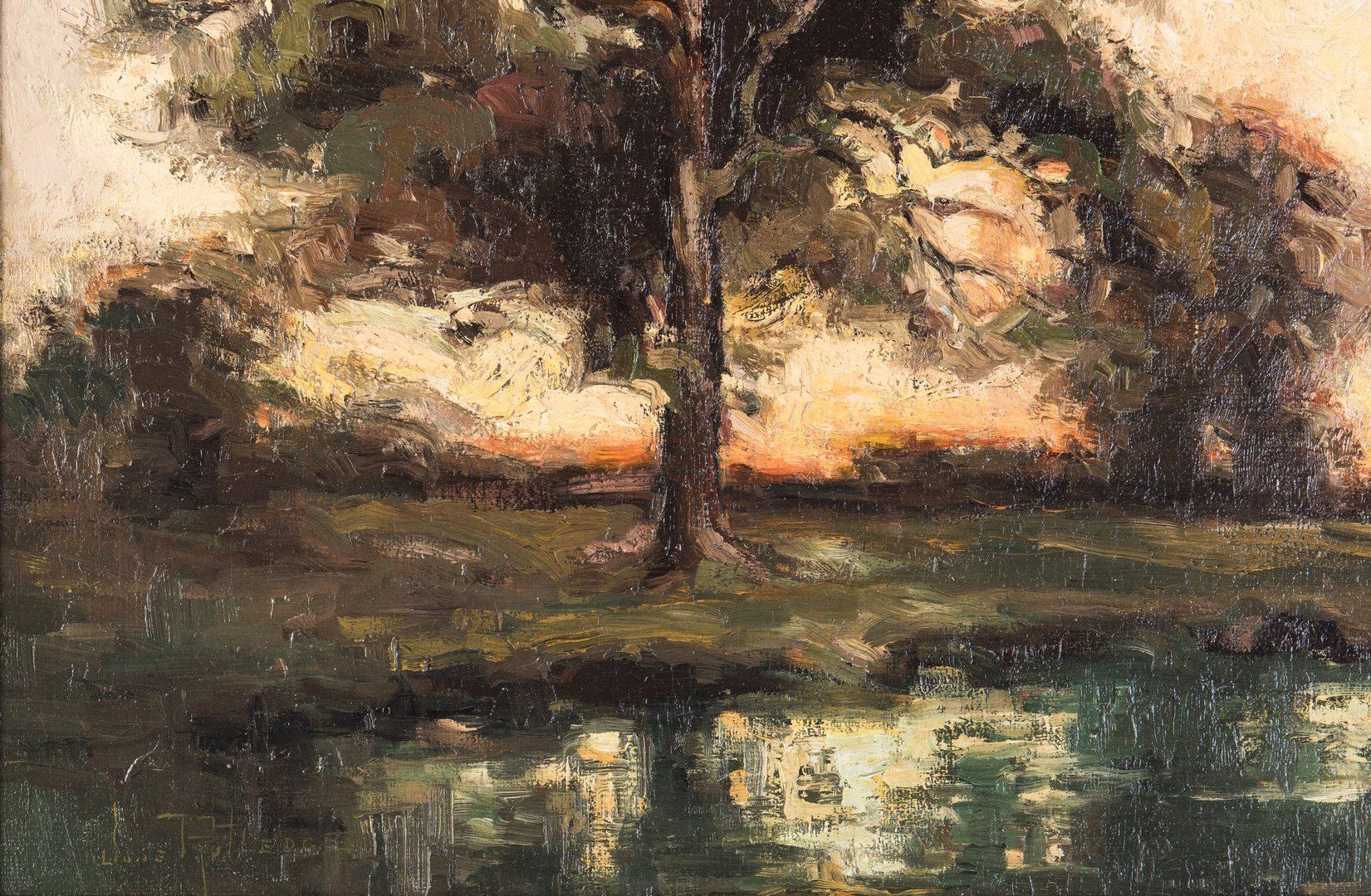 Lot 90: June Rutledge O/C, Southern Landscape