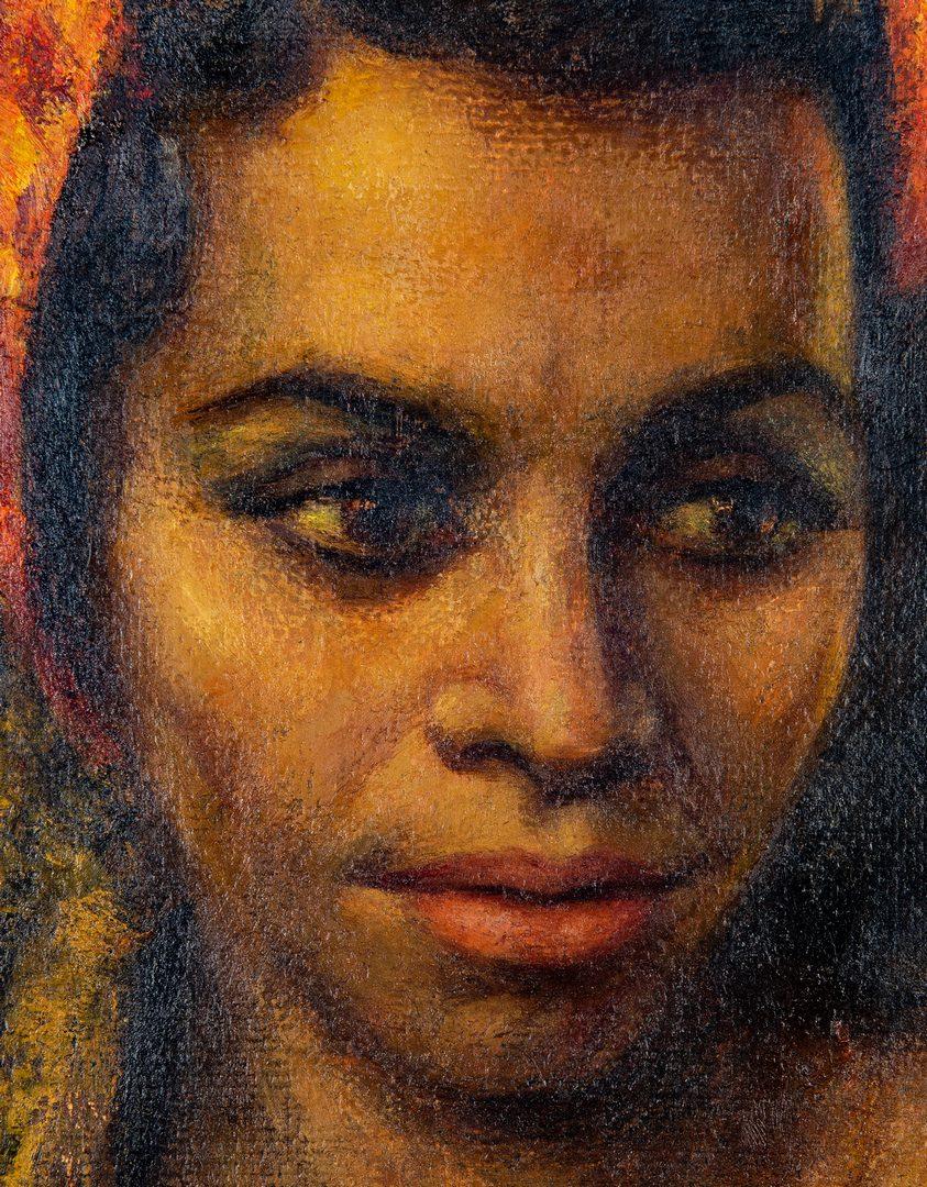 Lot 94: Gaspare Ruffalo, O/B, African American Lady