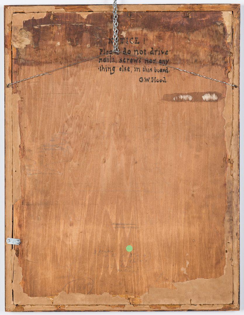 Lot 96: George Washington Hood Oil on Panel, The Buccaneer