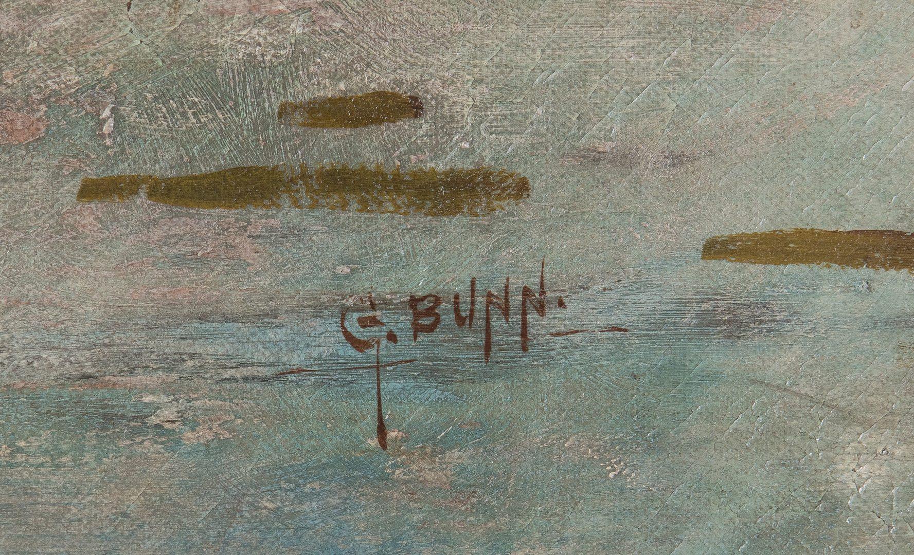 Lot 98: George Bunn O/C, Seascape