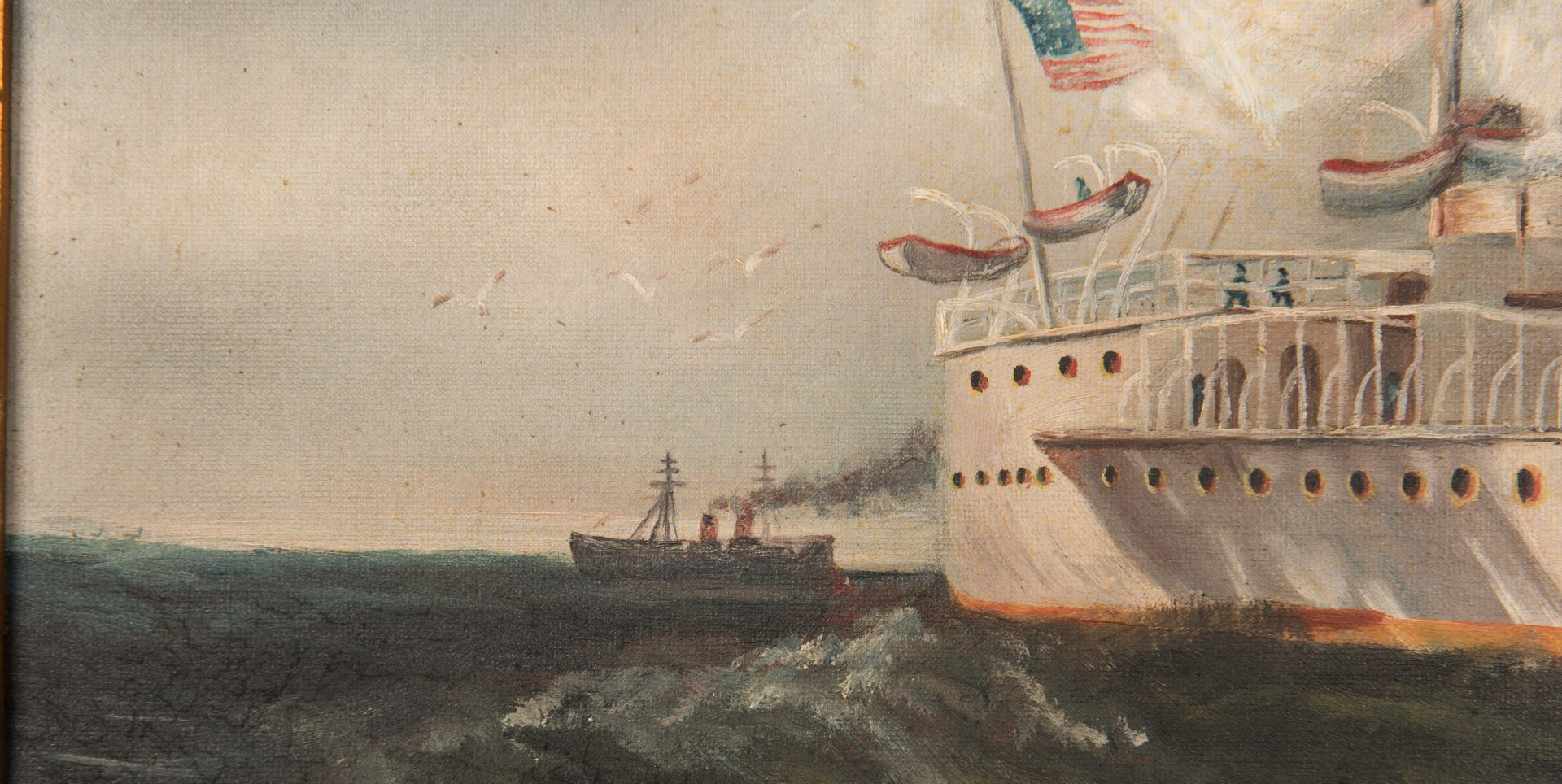 Lot 99: American Maritime Oil of USS Maine