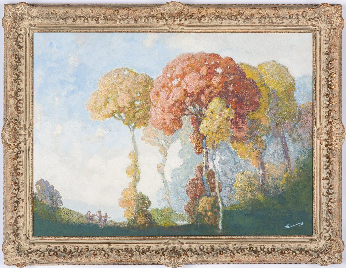 Lot 100: William Emerson Tonalist Landscape