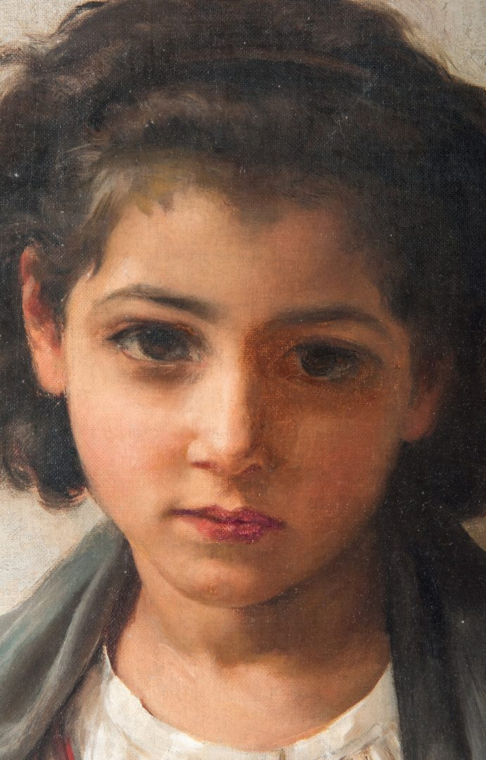 Lot 111: Adelia Armstrong Lutz After Bouguereau