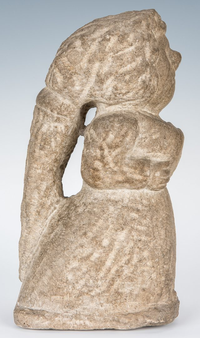 Lot 117: William Edmondson Sculpture, Miss Amy