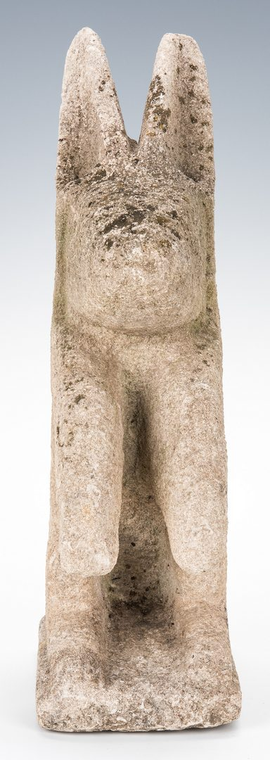 Lot 118: William Edmondson Limestone Rabbit