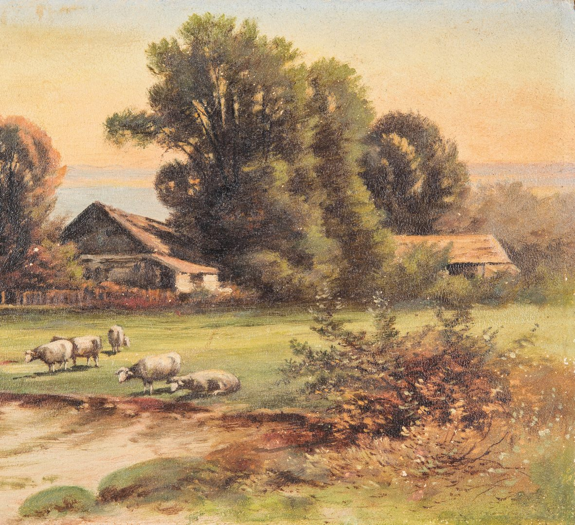 Lot 119: 2 Thomas Campbell O/B East TN Landscapes