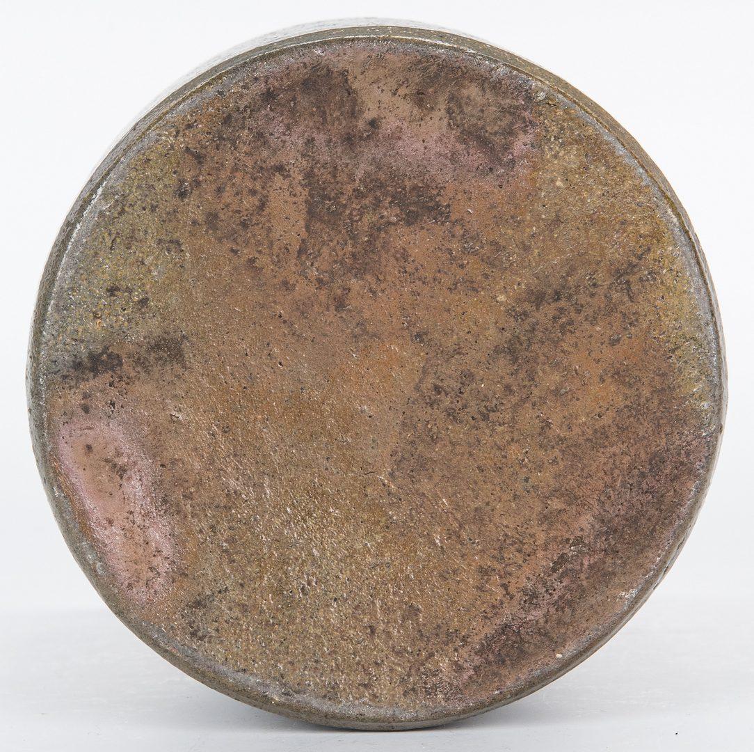 Lot 139: 4 Virginia Stoneware Pottery Items