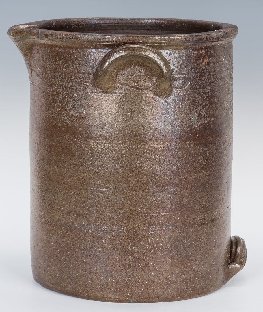 Lot 144: East TN Decker Stoneware Pouring Vessel