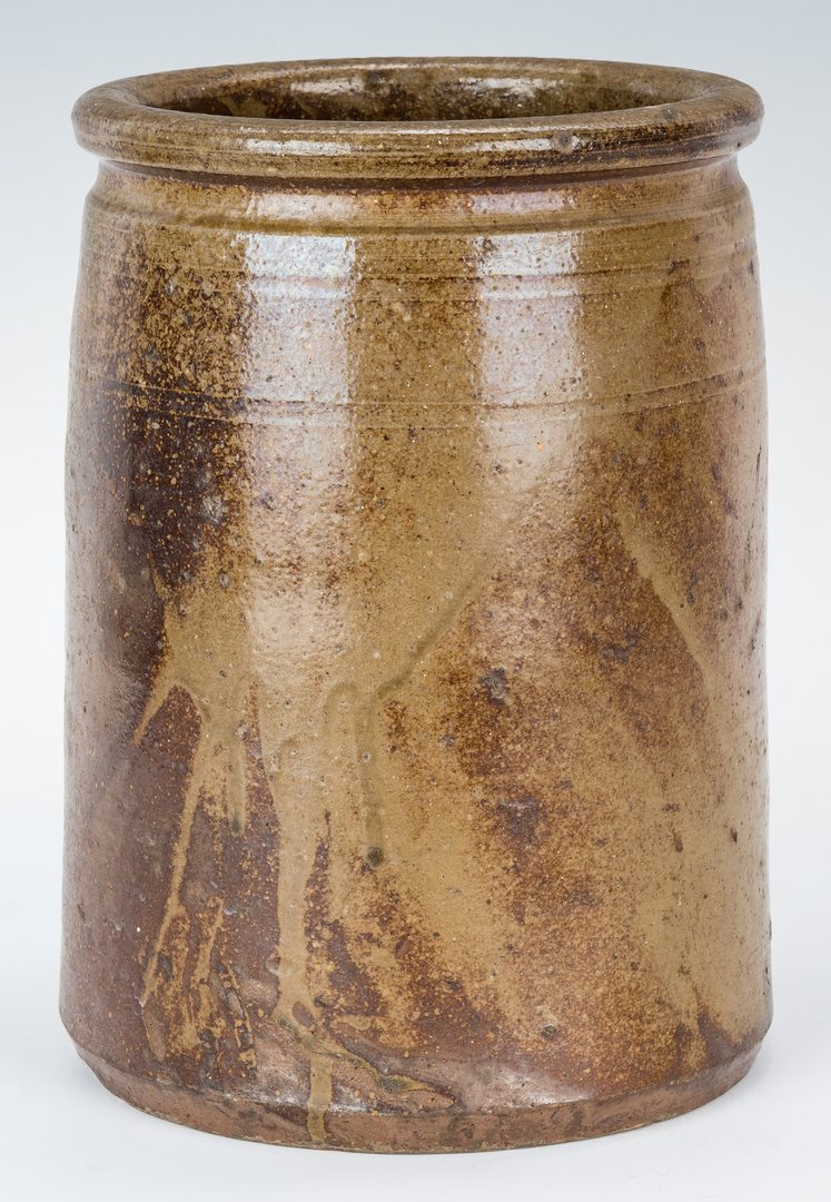Lot 145: East TN William Grindstaff Stamped Jar
