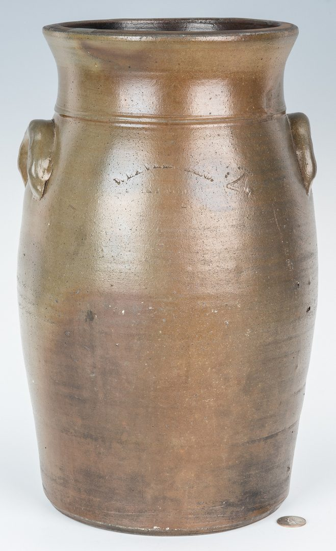 Lot 146: Weaver Bros. Knoxville Four Gallon Stoneware Jar