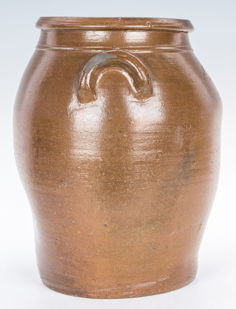 Lot 147: 2 Knoxville, TN Weaver Bros. Pottery Jars