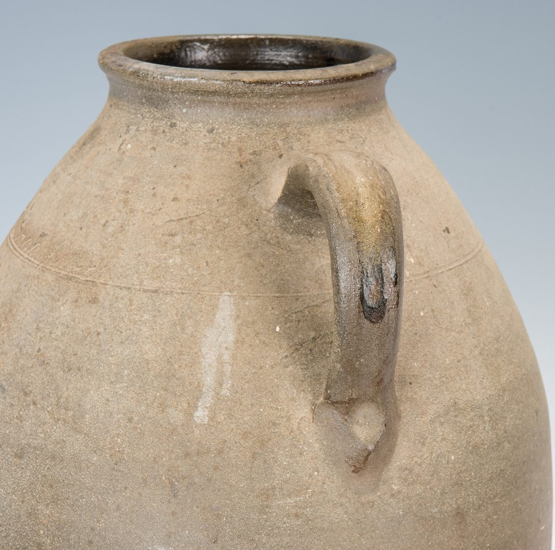 Lot 150: Middle TN Stoneware Pottery Jar, Signed Bradford