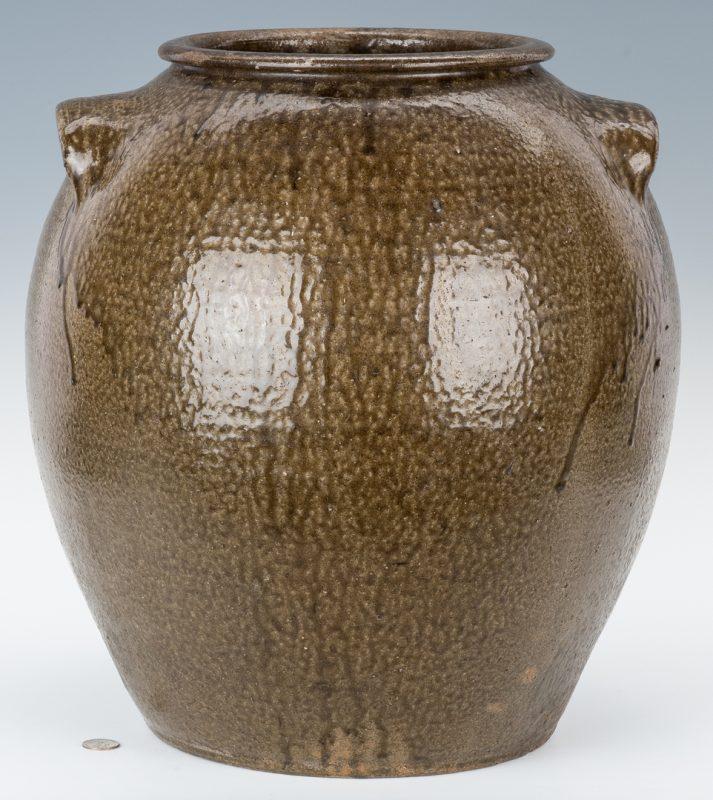 Lot 154: Monumental 10 Gallon Daniel Seagle Pottery Stoneware Jar