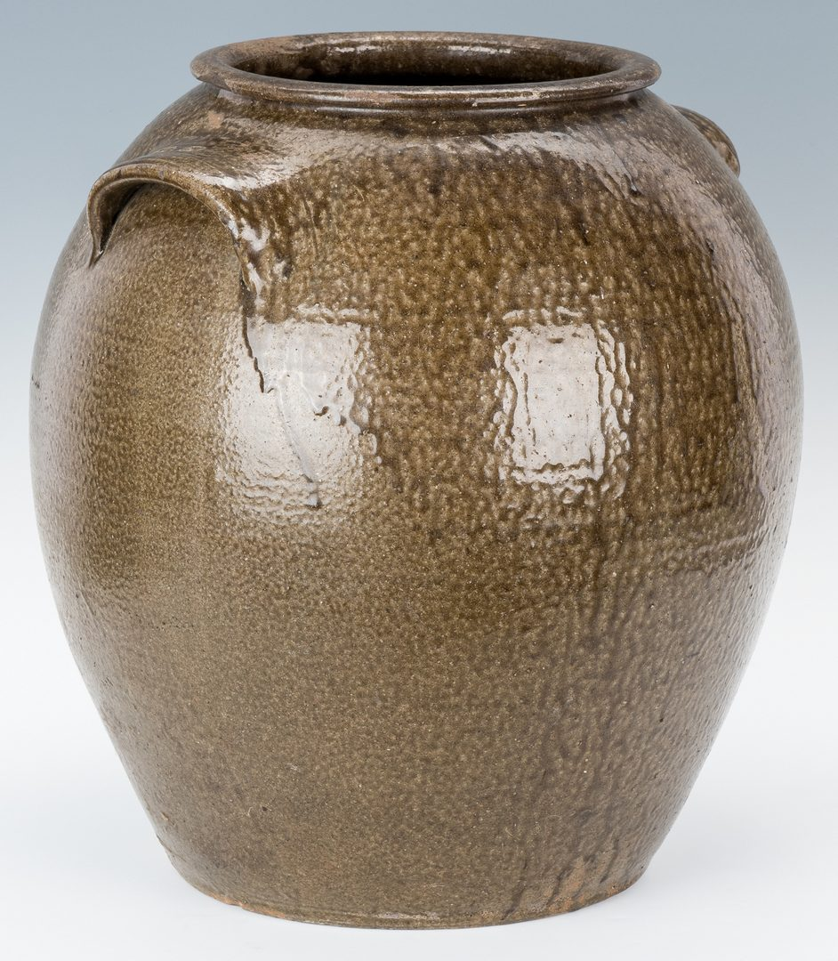 Lot 154: Monumental 10 Gallon Daniel Seagle Pottery Stoneware Jar