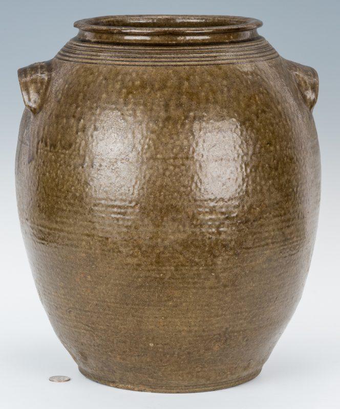 Lot 156: NC Daniel Seagle 7-Gallon Pottery Jar