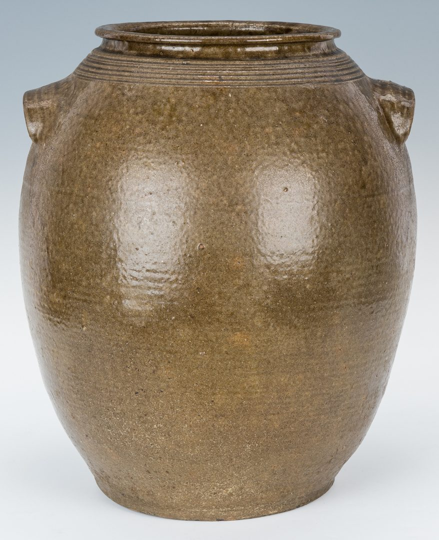 Lot 156: NC Daniel Seagle 7-Gallon Pottery Jar