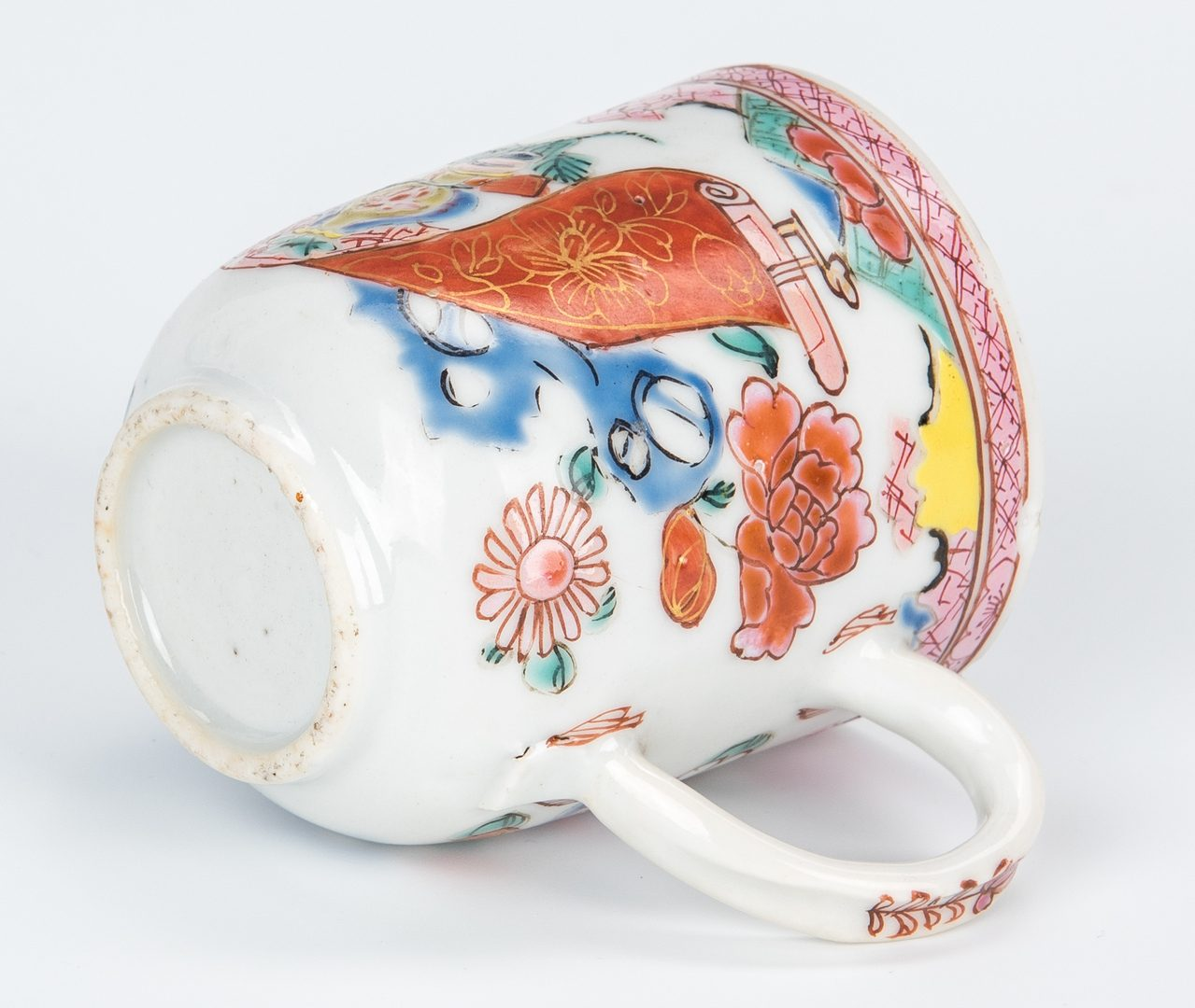 Lot 17: 6 Chinese Famille Rose Export Porcelain Items