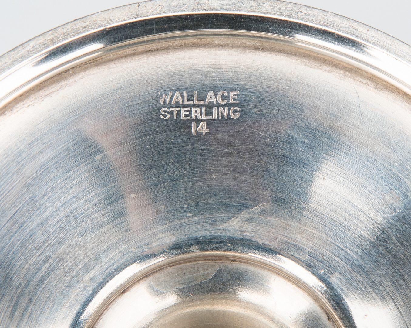 Lot 191: 15 Sterling Goblets incl. set 12 Gorham