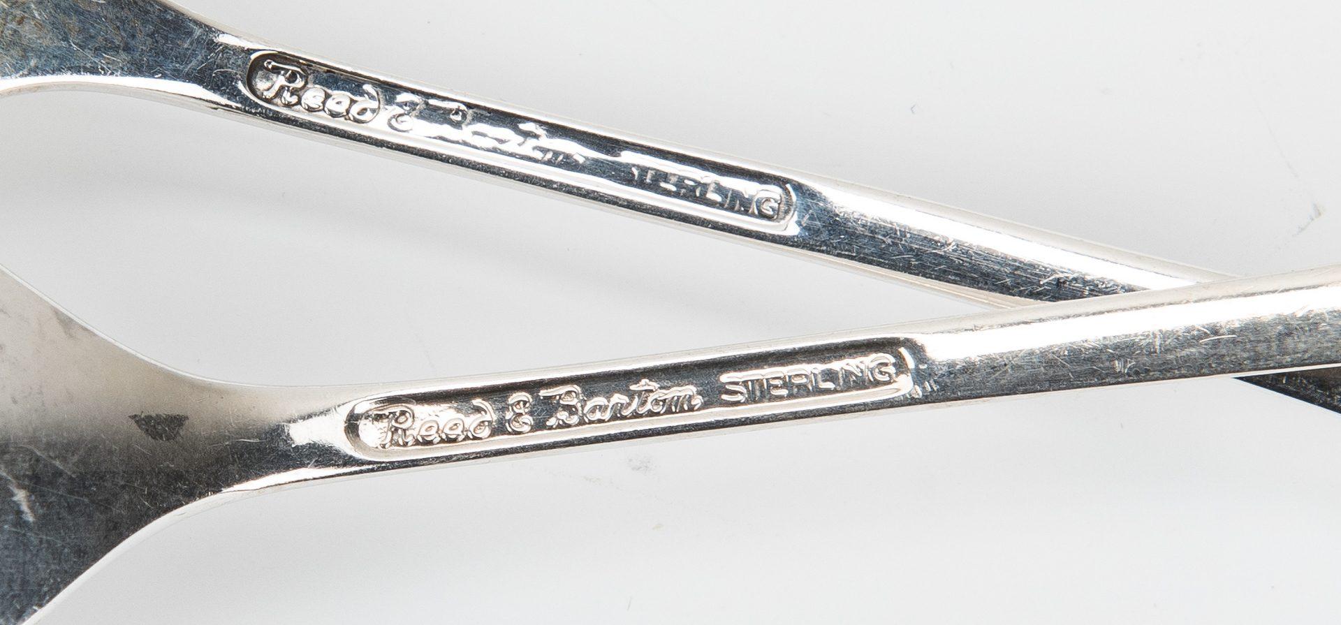 Lot 198: Reed & Barton Star Sterling Flatware