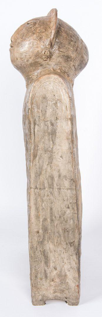 Lot 203: Olen Bryant Tall Ceramic Head and Torso