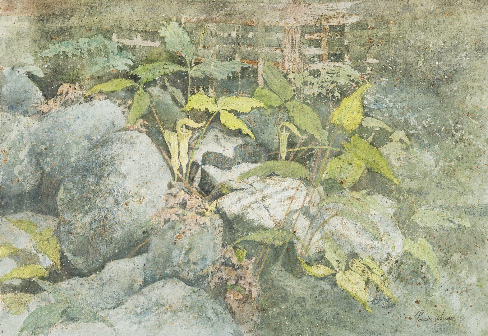 Lot 206: 2 TN Watercolors by Wallen & Ironside