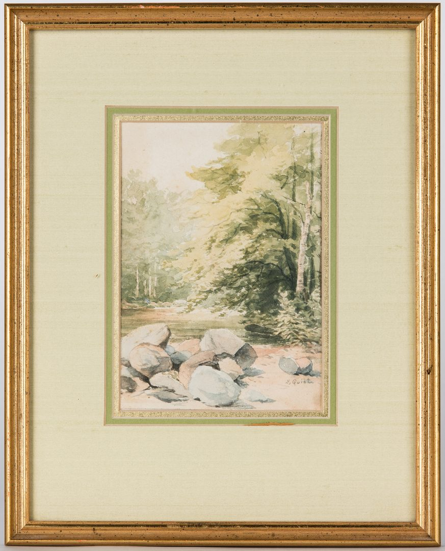 Lot 209: 2 East TN Thomas Campbell Related Art Works
