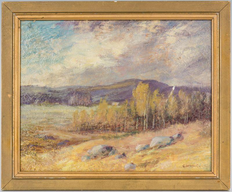 Lot 219: Charles MacCord O/B, The Old Farm, Exhibited