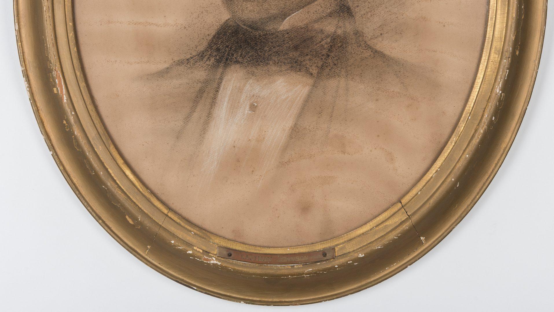 Lot 226: Attrib. Eastman Johnson, Portrait of a Gentleman