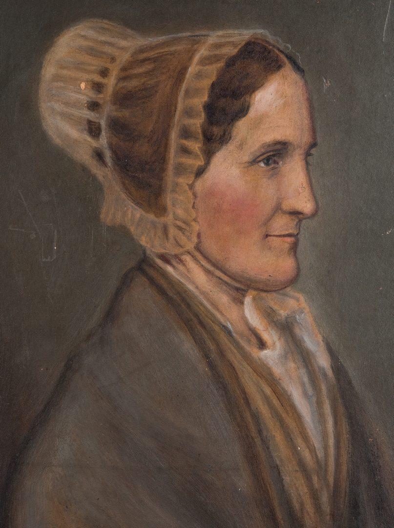 Lot 227: 3 Paintings, Marcus Mote, Ohio Quaker