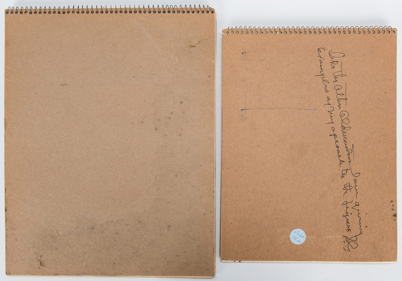 Lot 233: 2 Joseph Delaney Sketchbooks, Exhibited