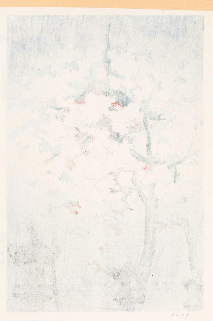 Lot 242: 3 Japanese Shin-hanga Prints, incl. Kawase, Shiro