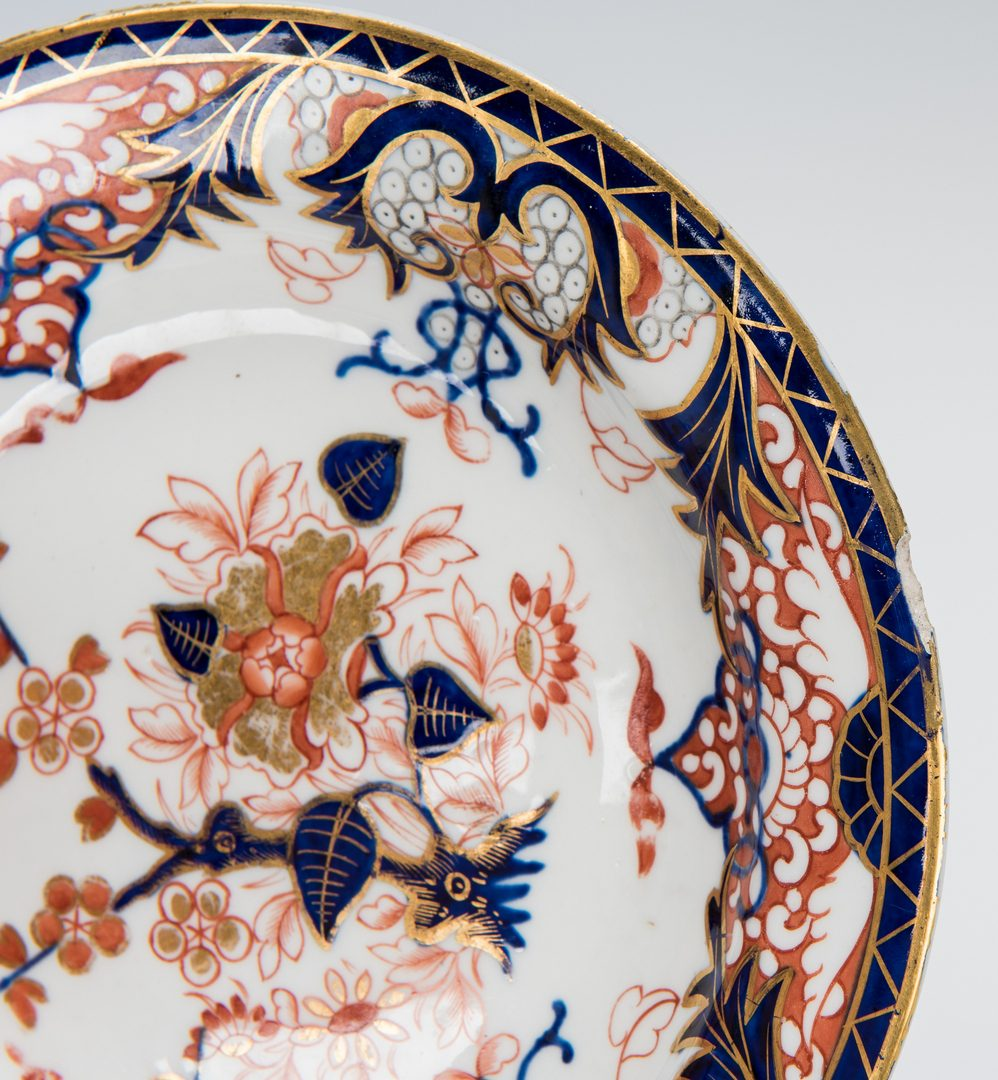 Lot 264: Large Group Royal Crown Derby Imari, most 19th Century