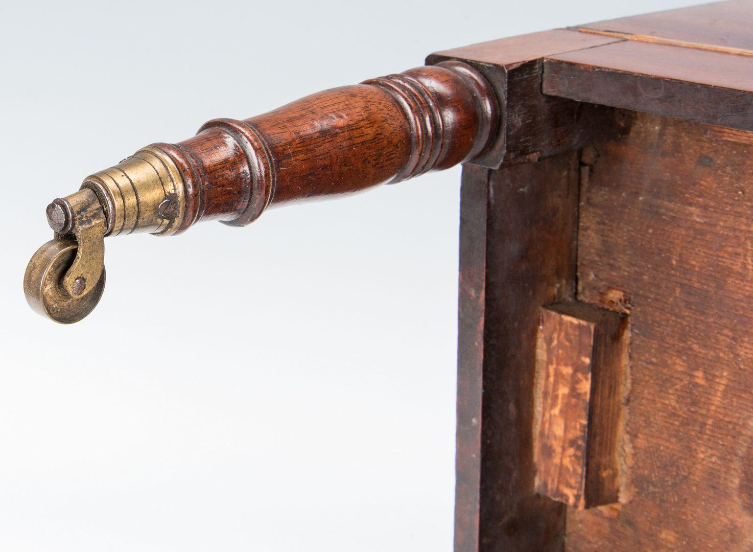 Lot 273: Georgian Mahogany Inlaid Cellarette