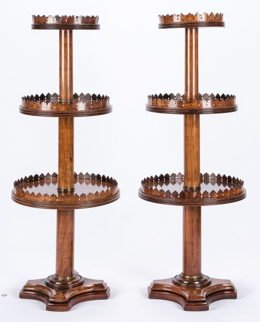 Lot 274: Pair Gothic Style Dumbwaiters
