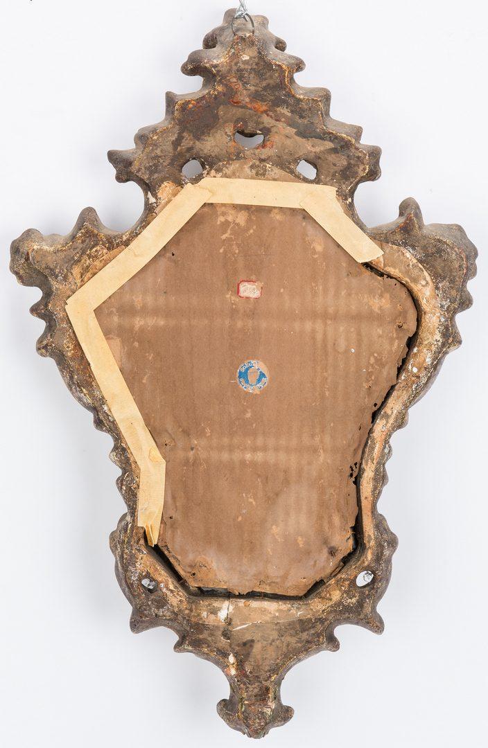 Lot 275: Three Baroque Style Mirrors