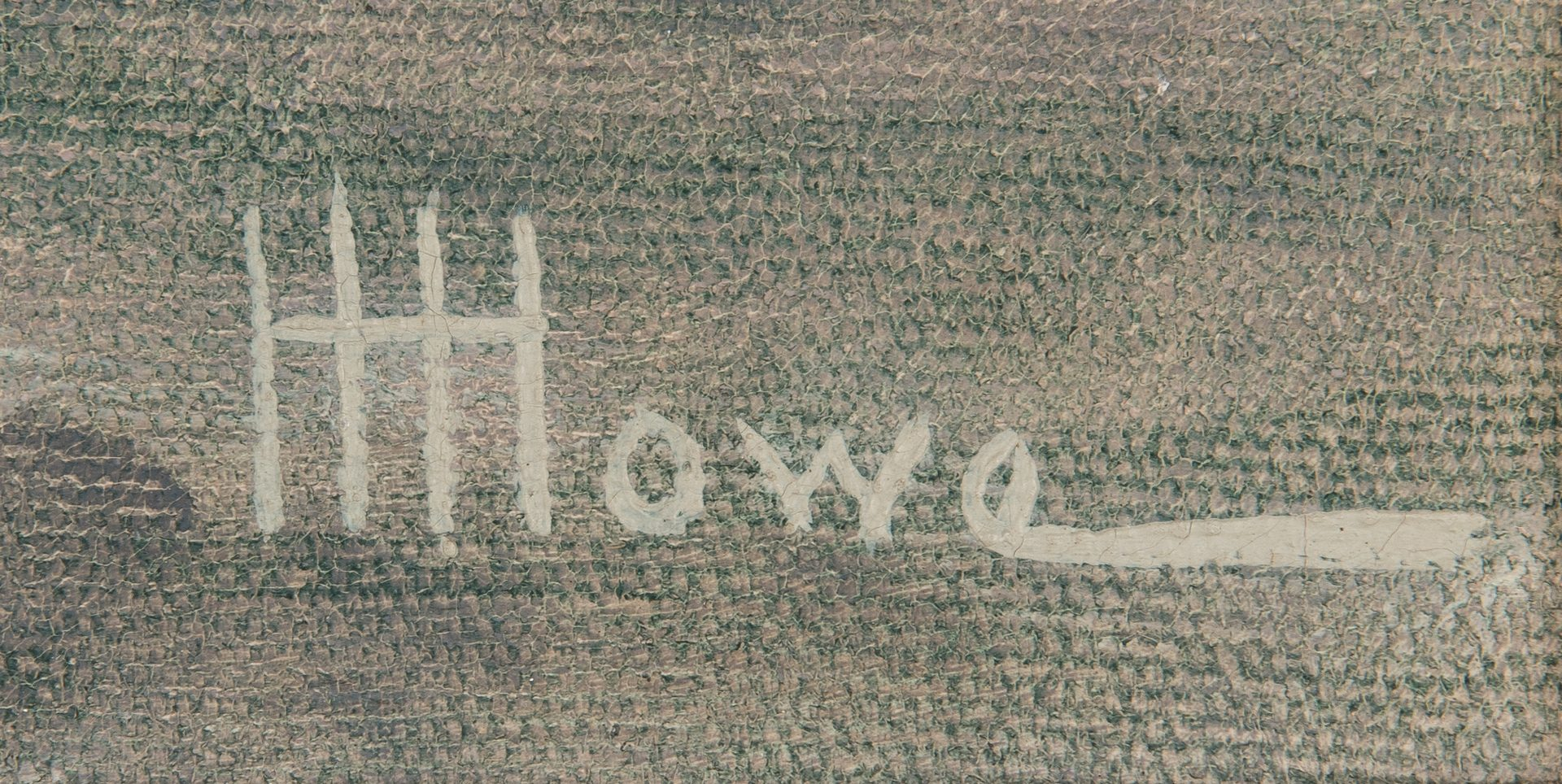 "Lot 298: Harry H. Howe Nautical O/C, ""Red Jacket"""